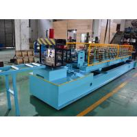 Buy cheap Mild Steel CZ Purlin Roll Forming Machine , C Lipped Channel Roll Forming Machine from wholesalers