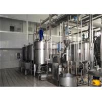 Buy cheap Single Layer Small Scale Yogurt Production Line , Yogurt Processing Equipment SUS304 from wholesalers