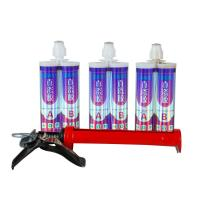 Buy cheap 400ml Granite Silicone Sealant , Silicone Grout Caulk With Double Tube from wholesalers