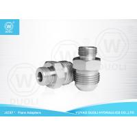 Buy cheap Hydraulic Tube Male JIC Flare Fittings SAE 37 Degree Flare Fittings O Ring Seal from wholesalers