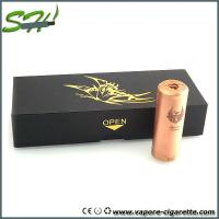 Huge Power Copper Cartel Mechanical Mod E Cig Full Mechanical Mod Manufactures