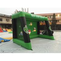 Buy cheap 0.6mm PVC Tarpaulin Inflatable Sports Games , Blow Up Soccer Goal For Fun from wholesalers