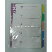 Buy cheap Index Tab Divider, Plastic File Folder(B3107) from wholesalers
