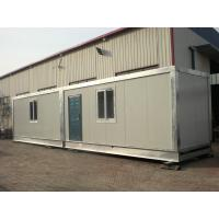 Buy cheap Two Story Prefabricated Container Houses , Flat Roof House from wholesalers
