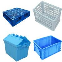 China Stainless Steel SUS304 Plastic Crate Washing Machine For Food / Poultry on sale