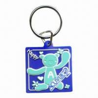 Wholesale 3D Soft PVC Keychain, Suitable for Promotional Gifts, Customized Logos and Designs Accepted from china suppliers