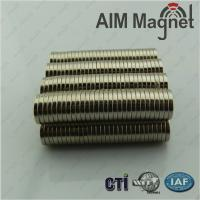 Buy cheap neodymium magnets for wind generators N52 D15x2.5mm from wholesalers