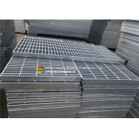 Buy cheap Serrated Bar Hot Dipped Galvanized Steel Grating Flat Weft Arrangement For Drainage Drain from wholesalers
