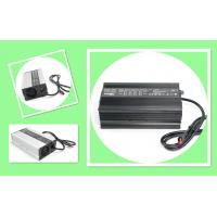 Buy cheap Dual 36V 48V 10A smart lithium ion battery charger, two voltages selectable, no spark from wholesalers