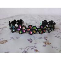 Handmade Crystal Beads Flowers Collar for Children Decoration Dance Wear Accessories Manufactures