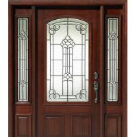 Buy cheap decorative glass panels for wooden doors from wholesalers