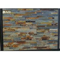 Wholesale Shinny Rusty Natural Slate Cultured Stone Durable Low Water Absorption from china suppliers
