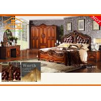 Buy cheap pakistan king size dark colour antique wooden brown bedroom furniture online shopping bed furniture shops from wholesalers