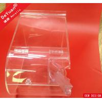 China Square Laser Engraving Plastic Candy Box With Spoon Acrylic Stylish on sale