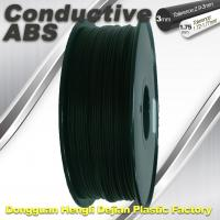 Wholesale Good elasticity universal ABS Conductive 3d Printer Filament in Black from china suppliers