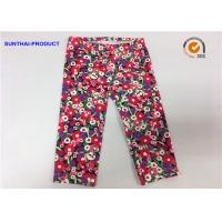 Buy cheap Attractive Cute Baby Girl Leggings Abrasion Resistance With Trees / Flowers Printed from wholesalers