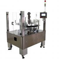 Buy cheap Vertical Rotary Semi Automatic Cartoning Machine For Blister Sachet Bottle Tube from wholesalers