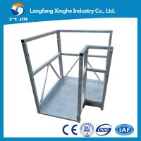 Buy cheap cable suspended woring platform,swing stage , scaffolding for window fitting from wholesalers