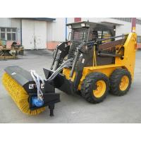 Buy cheap Extended Wheelbase Skid Steer Loader Narrow Space Operation With Bucket from wholesalers