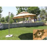 China Classic Round Top Starbucks Patio Umbrella For Outdoor Garden Furniture on sale