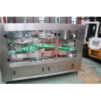 Buy cheap Flavor Milk Drink Glass Bottle Filling And Capping Labeling Packiong Machine from wholesalers