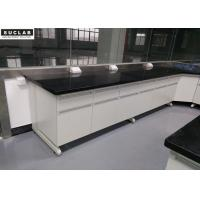 Buy cheap Black Marble Countertop Modular Lab Furniture In High Temperature Laboratory from wholesalers