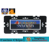 Buy cheap Die Stamp Iron Shiny Gold Plating Epoxy Casino Poker Chip Set Professional from wholesalers