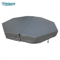 Buy cheap warranty-protected best-built durable insulation cover vinyl hot tub octagon grey spa cover for acrylic spa from wholesalers
