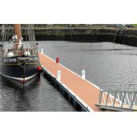 Buy cheap Durable WPC Deck Flooring Waterproof For Walk Road With Polishing Surface from wholesalers