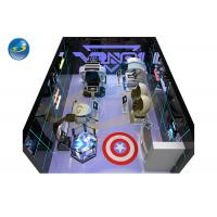 Wholesale Small Business Virtual Reality Theme Park 9D VR Simulator Arcade Room Game Center from china suppliers
