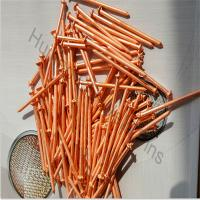 Buy cheap 3.0mm X 78mm  copper plated stud CD weld pins with dome cap washers from wholesalers