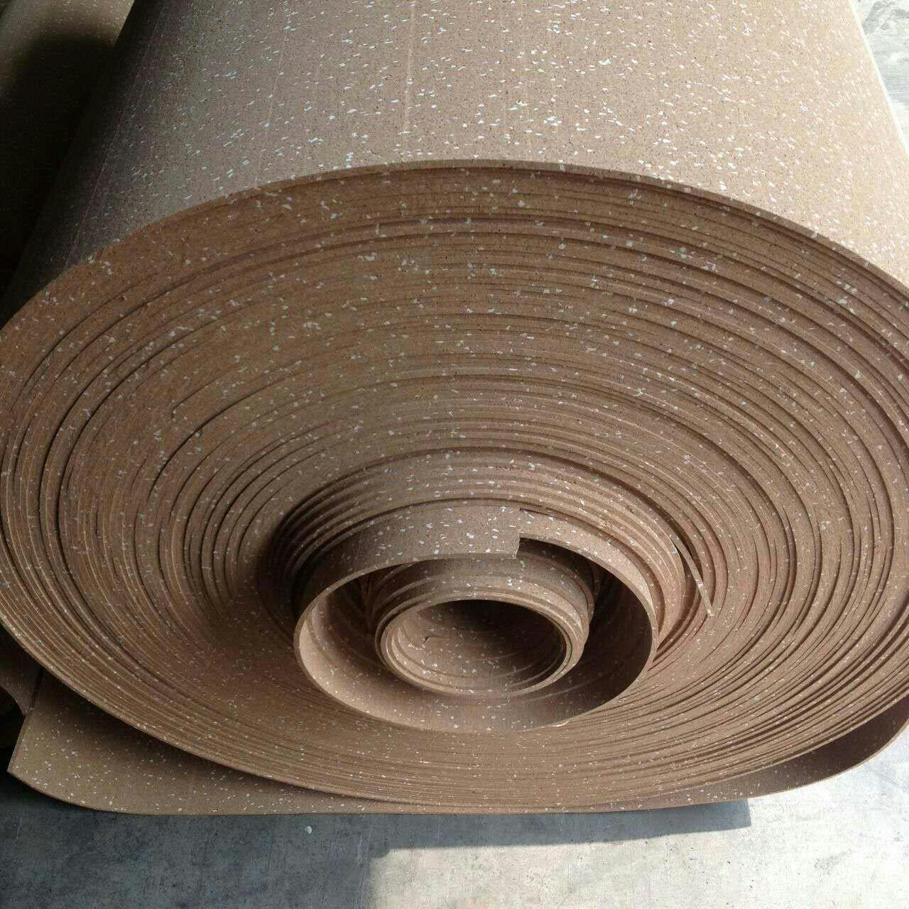 Buy cheap Coloured Rubber Flooring Rolls , Anti - Sipping Exercise Flooring Rolls from wholesalers