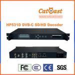 Buy cheap RF/AIIP to AV/ASI/SDI/HDMI/YPbpr/IP HP531D DVB-C SD/HD Decoder from wholesalers