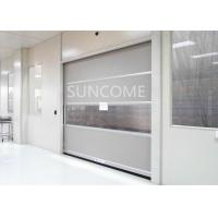 High Speed Colorful Plastic Curtain Roll Up Door High Efficiency And Energy Savings Manufactures