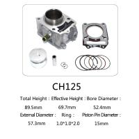 Buy cheap CH 125 Honda 125cc Water Cooled Cylinder Kit For Motorcycle Engine Parts from wholesalers
