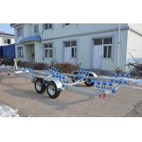 Big Payload Heavy Duty Boat Trailers Durable 9.6 M All Sizes For The Rib Boats Manufactures