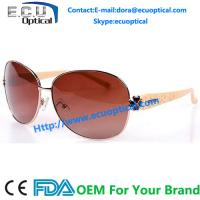 Buy cheap 2014 Special Design Shiny Black New brand fashion big TR90 Sunglasses For Womens from wholesalers
