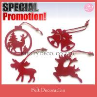 Buy cheap Red deer shape hanging christmas item from wholesalers