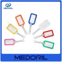 Wholesale Shenzhen supplier wholesale soft pvc travel luggage tag with custom logo from china suppliers