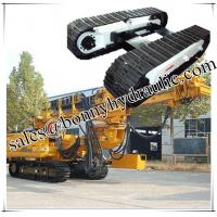 Buy cheap custom built 1-100 ton steel track undercarriage steel cralwer undercarriage from china factory from wholesalers