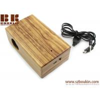 Buy cheap New Mini Induction portable Boombox For phone Wireless music speaker Wooden Speaker from wholesalers