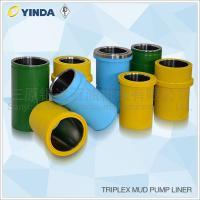 Wholesale Triplex Mud Pump Parts Bimetal Liner Chromium 26-28% HRC Than 60 Stable from china suppliers