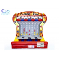 Buy cheap New Design Giant Child Inflatable Four 4 In A Row Basketball Shooting Game With Ball Score Connect For Sale from wholesalers