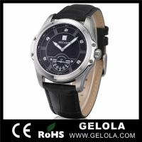 Buy cheap Genuine Leather Watches For Man,Wrist Watches Men from wholesalers