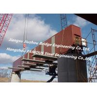 Buy cheap Structural Formwork Steel Box Girder Bridge , Girder Rail Bridge High Strength Segmental from wholesalers