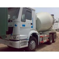 China 6 x 4 Driving Cement Mixer Truck Concrete Mixing Equipment With 10 CBM Mixer Tank  10 Speeds on sale