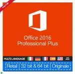 Buy cheap 100% Genuine Microsoft Ms Office 2016 Pro Plus Retail Key No Language Limitation from wholesalers