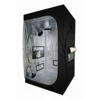 Light Proof Black Hydroponic Grow Tent With 600D Mylar Fabric For Greenhouse Horticulture Manufactures