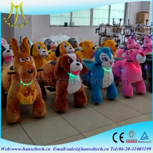 Hansel fast profits hot entertainment center safari animal ride entertainment machines Manufactures
