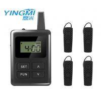 Wholesale Built - In Li Battery Bluetooth Tour Guide System 100 Channel from china suppliers